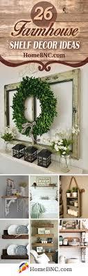 pictures decor 26 best farmhouse shelf decor ideas and designs for 2018