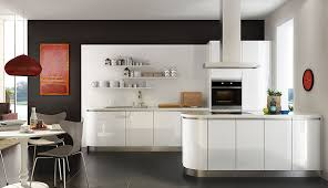 white gloss glass kitchen cabinets high gloss kitchen cabinets pros and cons oppein the