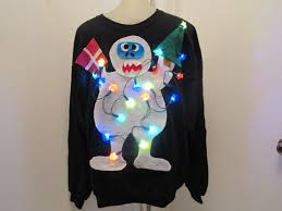 sweaters that light up sweater light up snowman sweater