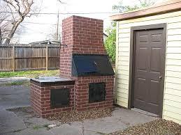 outdoor brick bbq pit fire pit design ideas