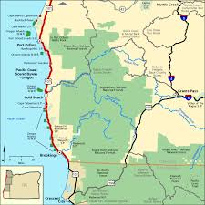 americas byways pacific coast scenic byway oregon lower southern section