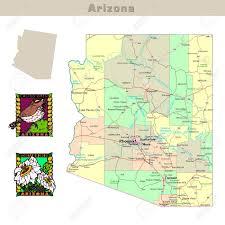 Arizona Road Map Map Phoenix Map Of North Dakota Forum Shops Map
