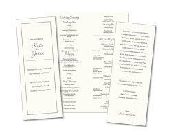 simple wedding program 29 best wedding order of service images on catholic