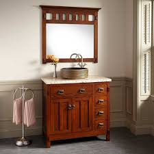 oak bathroom cabinet basin countertop vanity unit with ceramic