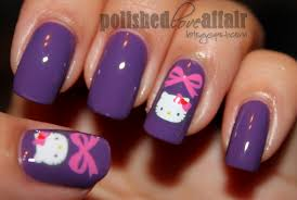 hello kitty mix and match nail art totallycoolnails youtube