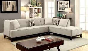 sofia transitional style l shape sectional