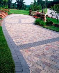 Paver Banding Design Ideas For Pavers Landscape Pinterest - Backyard paver designs