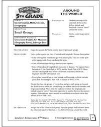 Math Worksheets For 5th Grade Around The Math Worksheet For Math Blaster