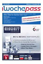 woche pass kw49 5 dezember 2012 by woche pass ag issuu