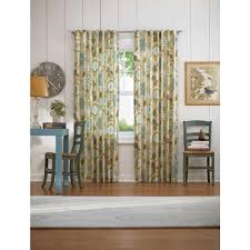 home decorators collection semi opaque pear floral cottage back