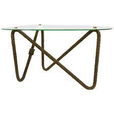 Rope Table L Rope Coffee Table Writehookstudio
