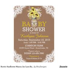 mason jar baby shower invitations best shower