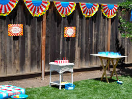 circus carnival cherry on top parties
