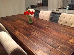 Custom Reclaimed Wood Farm Dining Table Walnut Farmhouse - Custom kitchen table