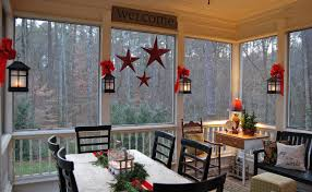 Enclosed Patio Windows Decorating Idea To Decorate Without Much Wall Space This Makes