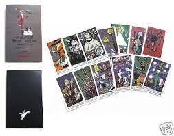 disney s nightmare before christmas haunted mansion tarot cards ebay