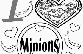 printable coloring pages girls minions colorings
