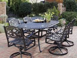Patio Set 6 Chairs by Patio 53 Cast Iron Patio Furniture Home Styles Table 7 Piece