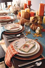 exciting thanksgiving table settings decorating ideas at dining