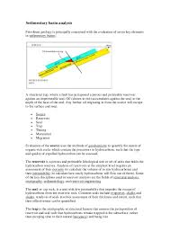 Sedimentology And Geochemical Evaluation Of Structural Geology For Petroleum Egineering Geology