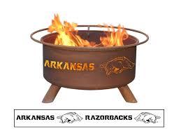 Arkansas Razorback Home Decor by Amazon Com Patina F244 University Of Arkansas Fire Pits