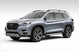 subaru concept 2017 the subaru ascent another big suv car release dates 2018