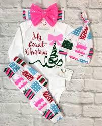 my christmas baby girl baby clothing my christmas onesie my christmas