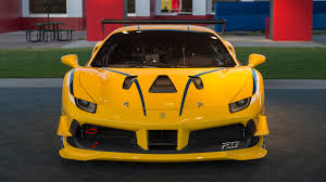 ferrari 488 modified ferrari 488 challenge 2016