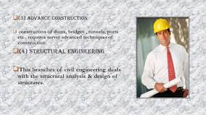 civil engineering branches u0026 scopes ppt video online download