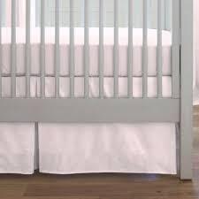 Solid Pink Crib Bedding Solid Pink Crib Skirt Box Pleat Carousel Designs