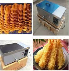 ღ ღ12L deep fryer pot mercial household stainless steel french