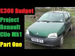 part 1 4 budget renault clio project front brakes rear lights