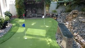 backyard putting green kit home outdoor decoration