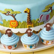 jungle animals jamboree fondant cake wilton