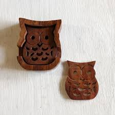 owl coasters home goods and décor unique gifts u2013 rethreaded
