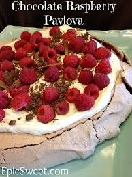 chocolate raspberry dessert chocolate raspberry pavlova epic sweet