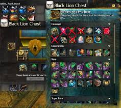 Rare How To Make Video How To Make Black Lion Chests Worth Opening Guildwars2