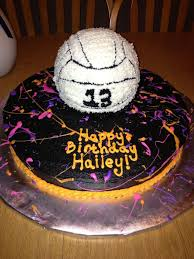 11 best volleyball cakes images on pinterest volleyball cakes