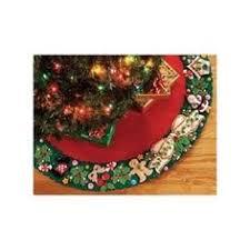 bucilla raggedy morning tree skirt felt applique kit