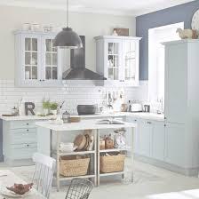meuble de cuisine bleu delinia ashford leroy merlin with regard
