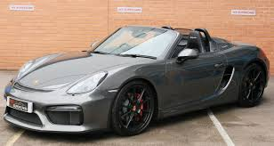 Porsche Boxster 2015 - used 2015 porsche boxster 981 12 current spyder for sale in