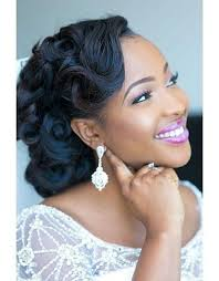 pin up hairstyles for black women with long hair 15 best great wedding hairstyles that black women can try images