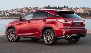 lexus rx red interior 2017 lexus rx 200t f sport autocarweek com