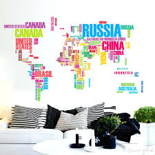 office design wall stickers for office wall stickers for office pvc color letters world map wall stickers removable art decals mural living room bedroom office decoration wall decals cheap wall decals deals from jy9146