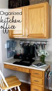 kitchen office organization ideas organized kitchen office makeover hometalk