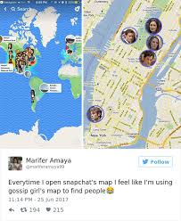 map new map snapchat introduces new map update and here s 10 of the funniest