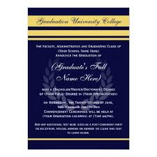 college graduation invites formal college graduation announcements blue zazzle