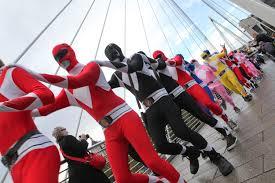 morphsuits spirit halloween uk london power ranger morphsuit flashmob morph costume co