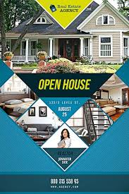 real estate brochure templates psd free free open house flyer template psd for photoshop