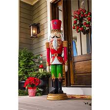large outdoor nutcracker decoration size nutcracker decorations
